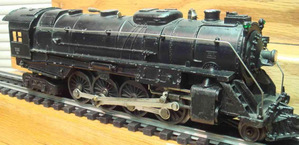 lionel 726 spielzeug eisenbahn birkshire dampflokomotive spur 0