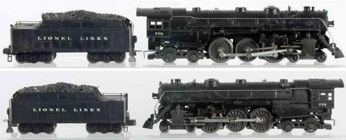 lionel 773 2426w spielzeug eisenbahn lokomotive tender spur 0