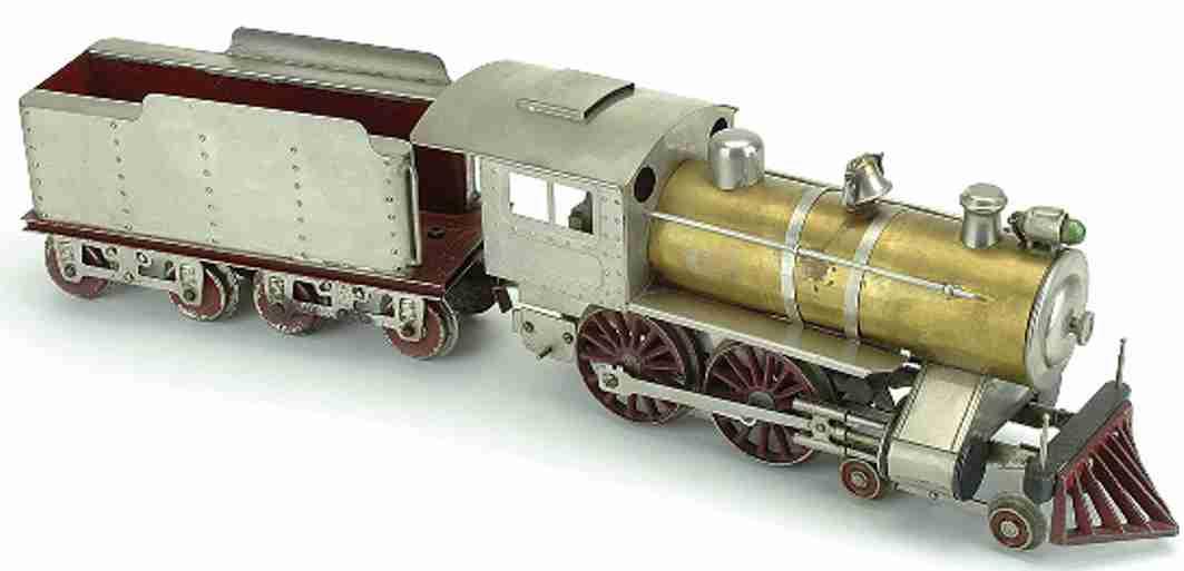 lionel 7 railway toy engine special locomotive and tender standard gauge