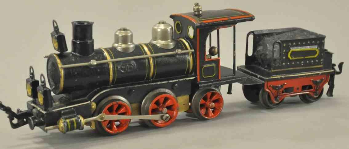 maerklin 1020 r eisenbahn uhrwerk-dampflokomotive tender spur 0