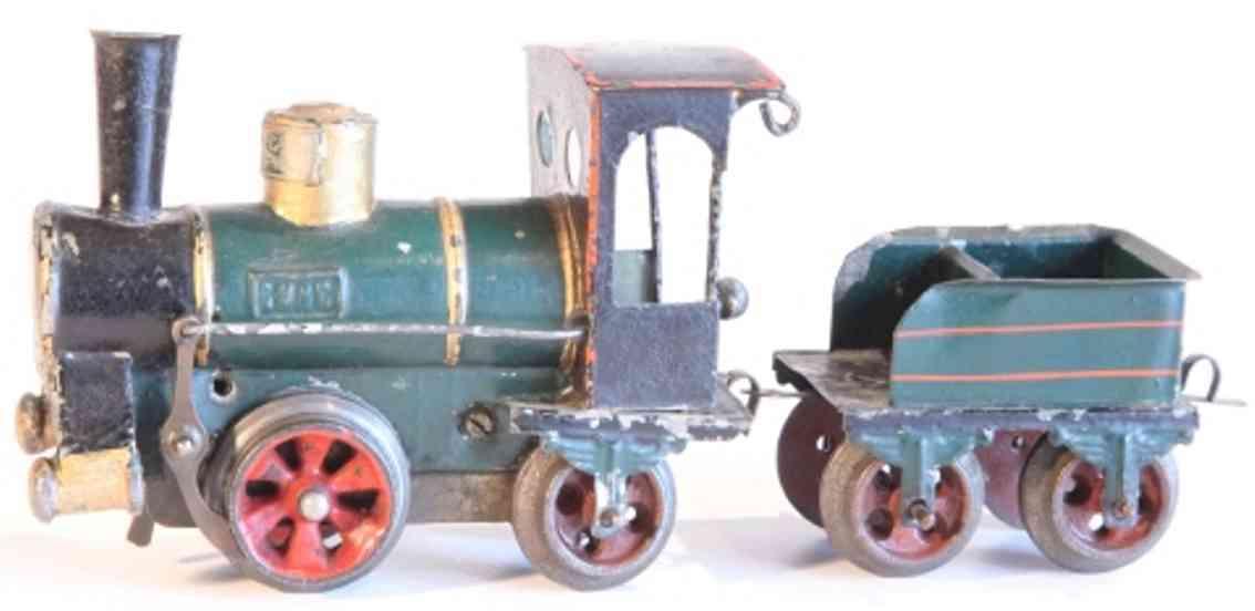 maerklin 1020 b spielzeug eisenbahn uhrwerkdampflokomotive spur 0