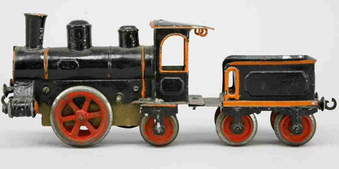maerklin 1021 spielzeug eisenbahn uhrwerk-dampflokomotive spur 1