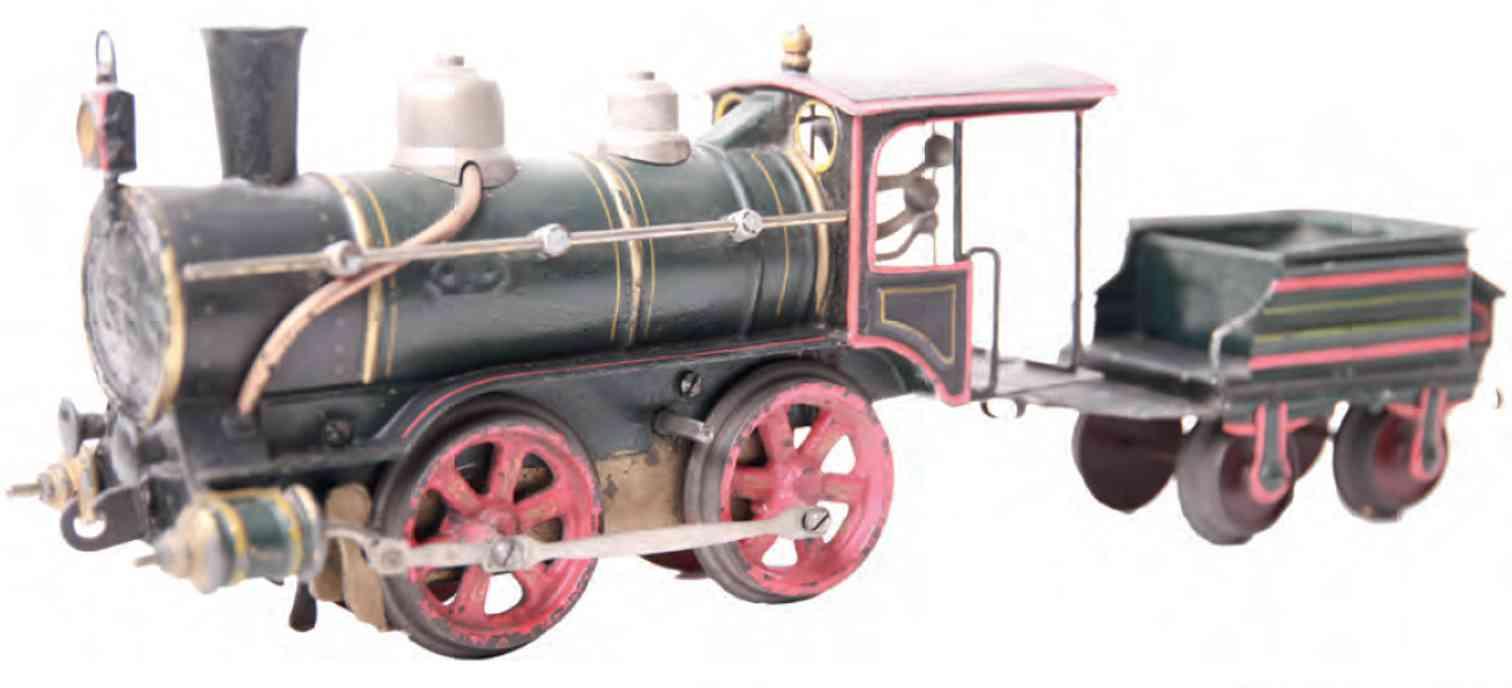 marklin maerklin 1021 rnn 1897 railway toy clockwork steam engine gauge 1