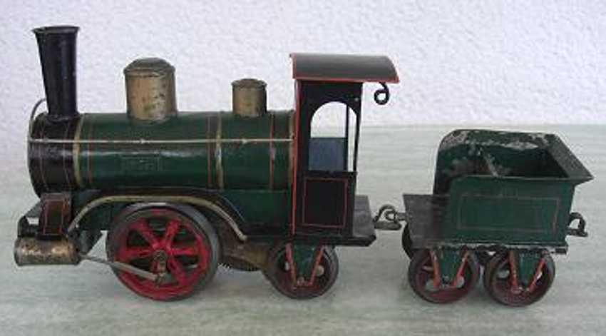 maerklin 1022 spielzeug eisenbahn uhrwerk-dampflokomotive storchenbein spur 1