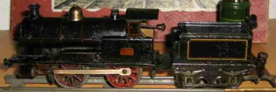 maerklin 1030 BN 1030 spielzeug eisenbahn uhrwerk-dampflokomotive spur 0