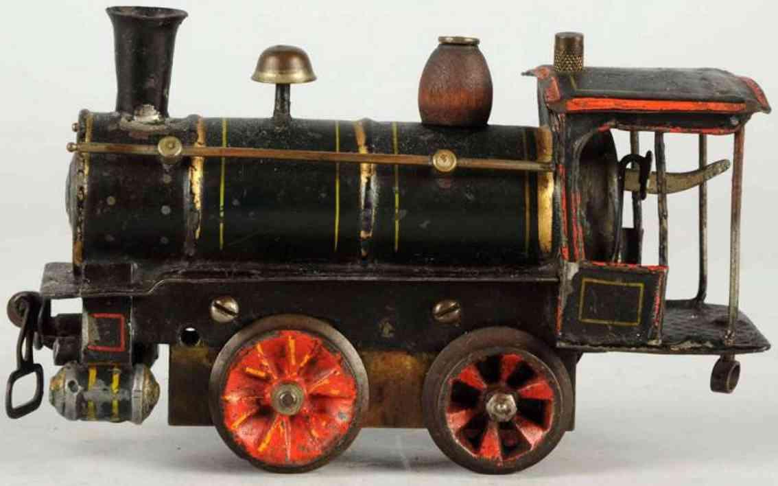 marklin 1030 R spielzeug eisenbahn amerikanische uhrwerk-dampflokomotive