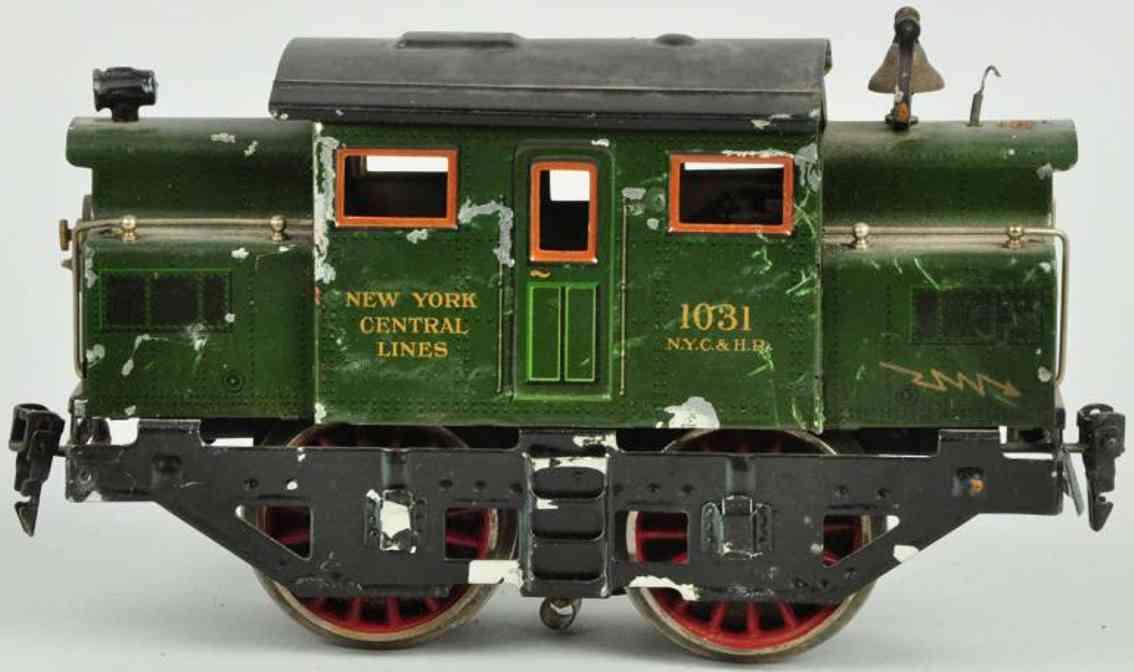 maerklin 1031 spielzeug eisenbahn lokomotive in gruen spur 1