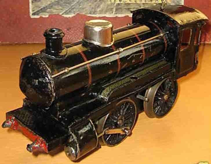 maerklin 1041/1 spielzeug eisenbahn uhrwerkdampflokomotive schwarz spur 1