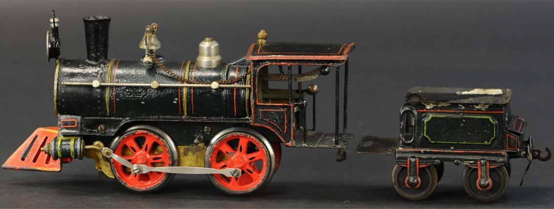 marklin maerklin railway toy engine american style clockwork locomotive gauge 1