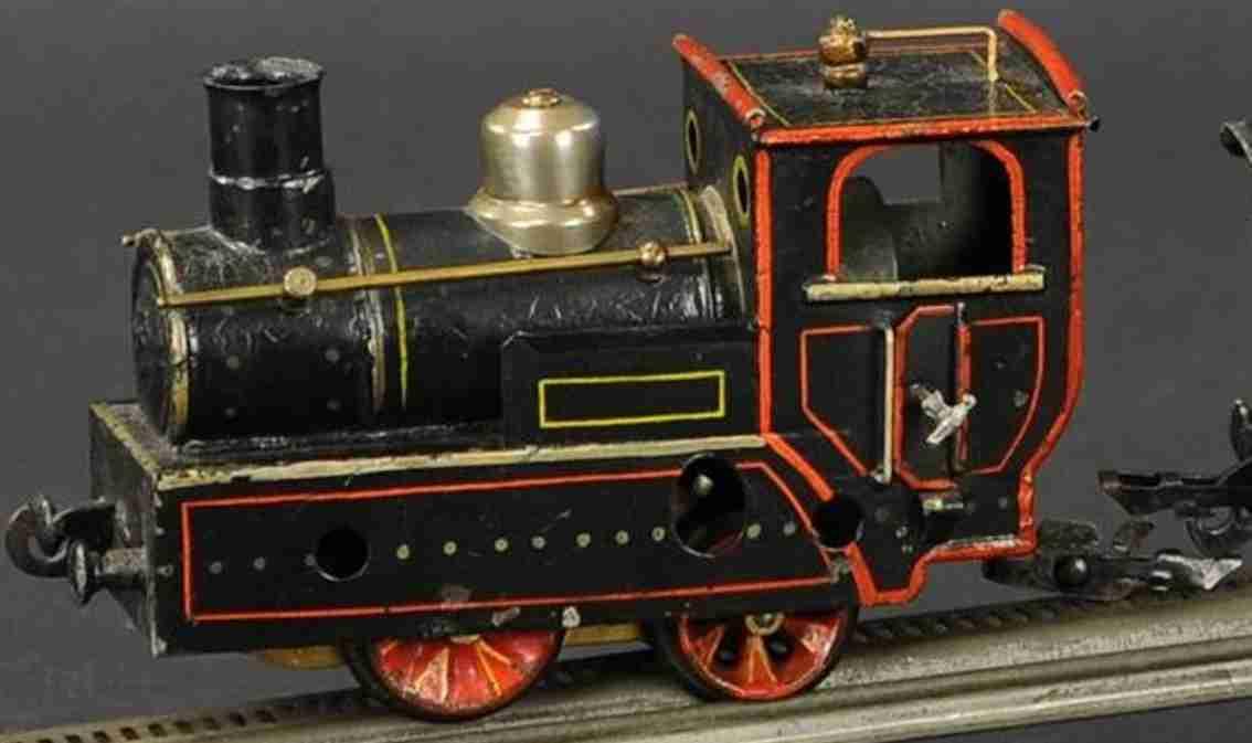 maerklin 2320 spielzeug eisenbahn zahnrad-dampflokomotive schwarz spur 0