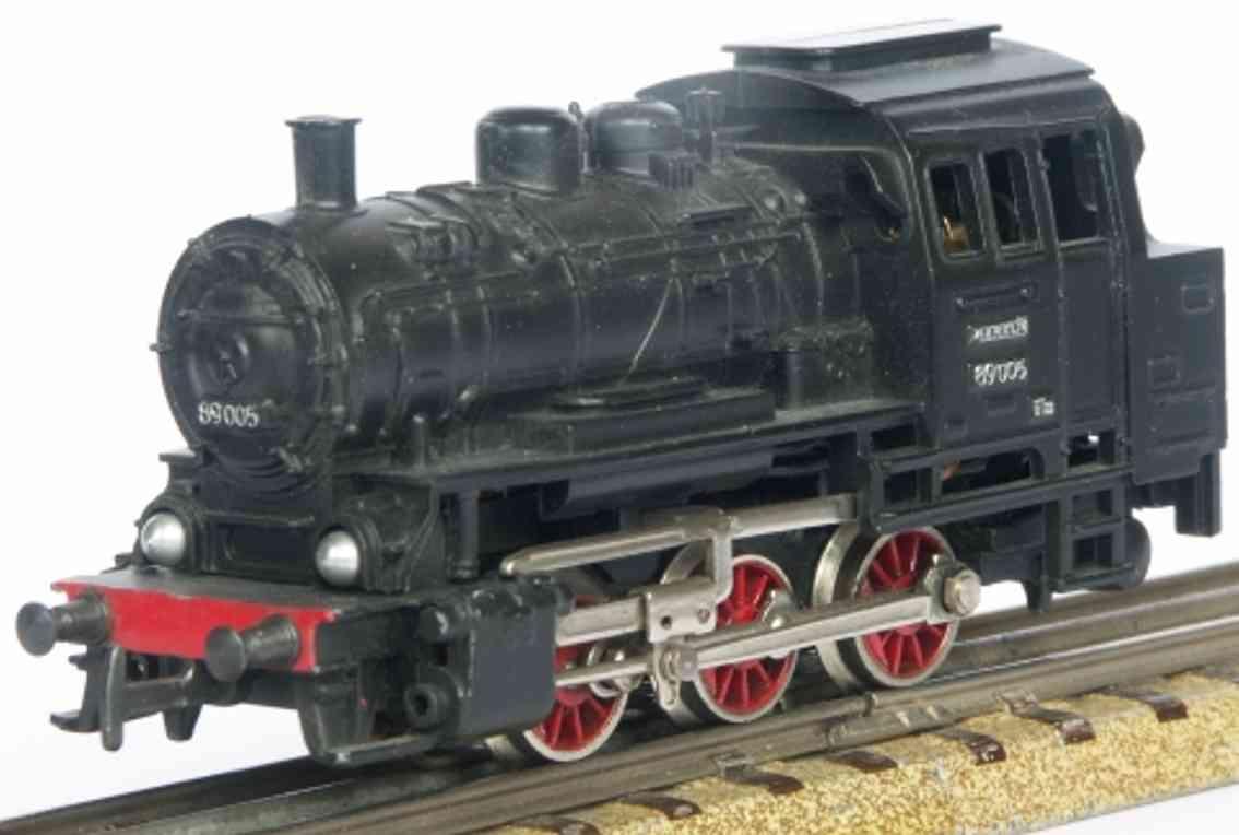 maerklin 3028-1 spielzeug eisenbahn tenderlokomotive schwarz spu  h0