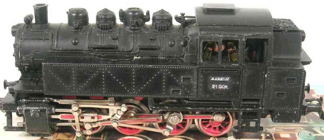 maerklin 3031-3 spielzeug eisenbahn güterzugdampflokomotive schwarz spur  h0