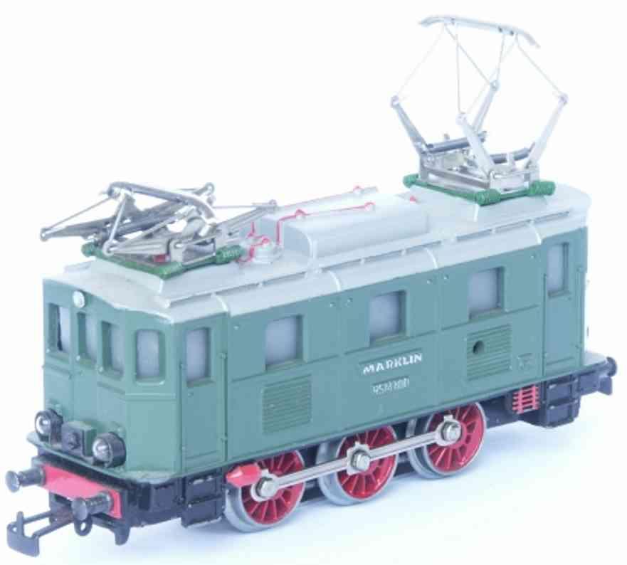 maerklin 3033-1 spielzeug eisenbahn elektrolokomotive gruen spur h0