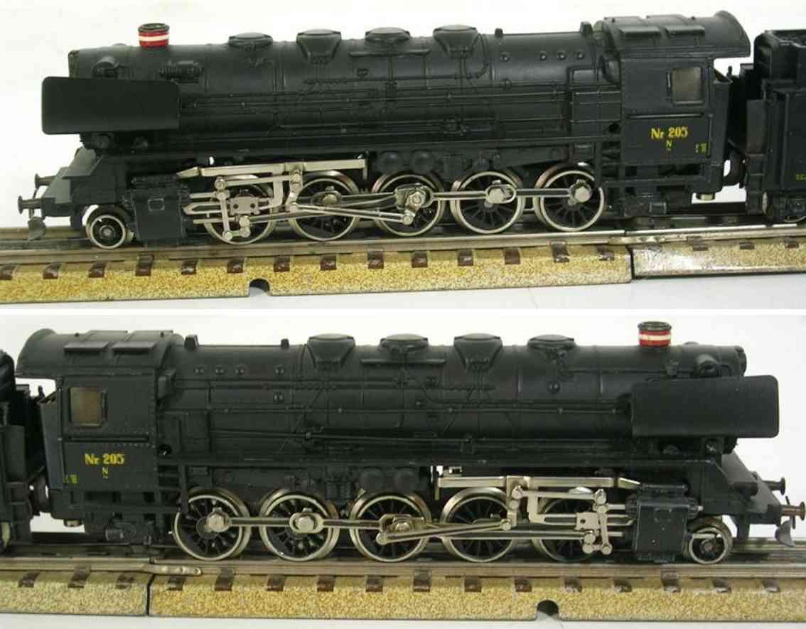 maerklin 3045 spielzeug eisenbahn dänische dampflokomotive schwarz spur h0