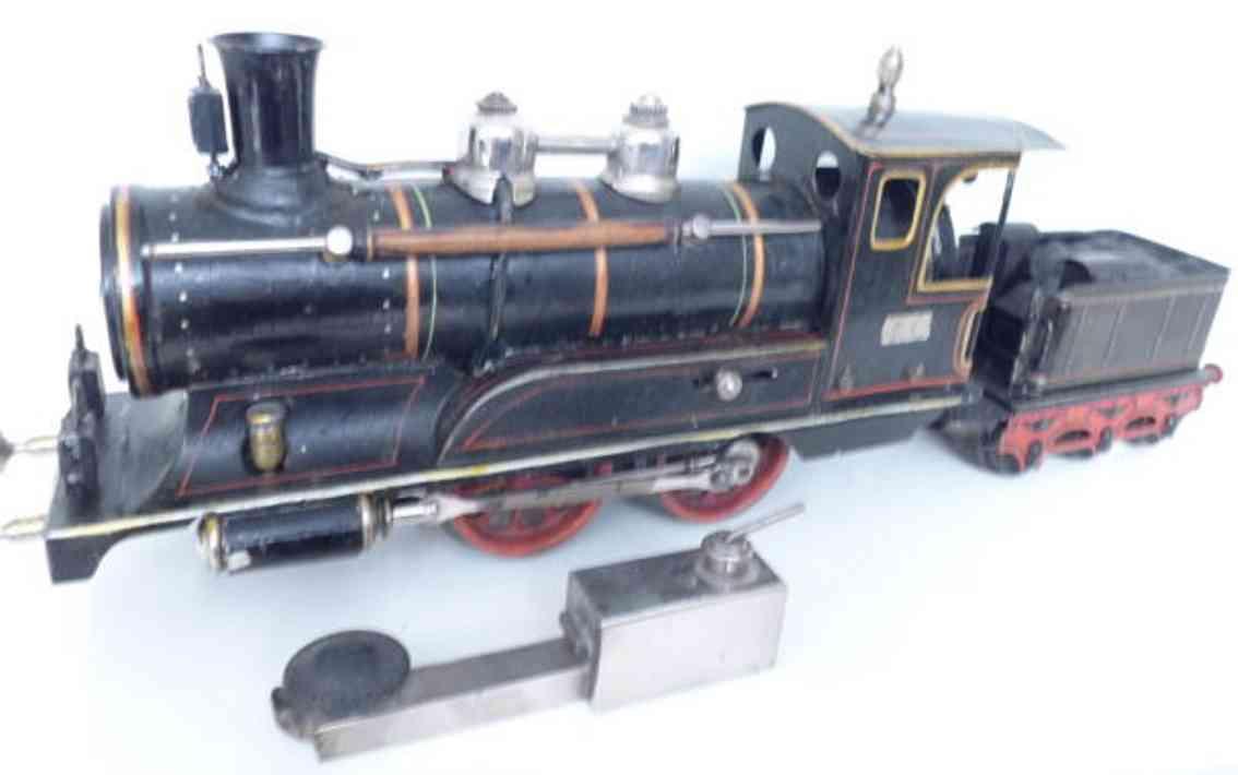 maerklin 4021 spielzeug eisenbahn spiritusdampflokomotive schwarz spur 1
