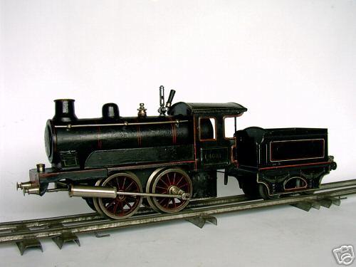 maerklin 4031 spielzeug eisenbahn spiritus-dampflokomotive schwarz spur 1