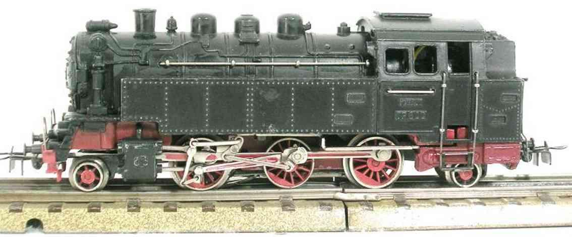 marklin maerklin 7042 446/21 tp800-1 railway toy engine steam locomotive black gauge h0