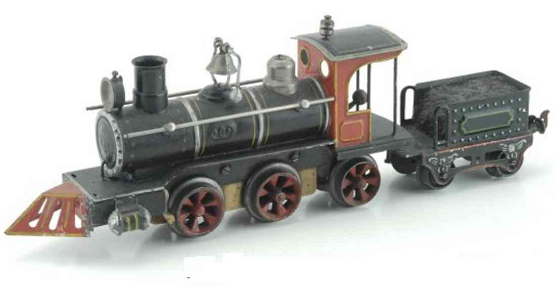 marklin maerklin ad 1020 1030 rn american clockwork locomotive tender black gauge 0