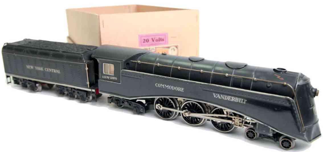 maerklin ak 70/12920 eisenbahn amerikanische 20 volt stromlinienlokomotive spur 0