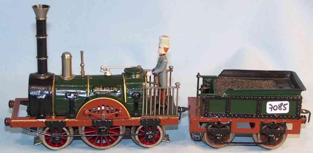 maerklin ar 12930 spielzeug eisenbahn 20-volt dampflokomotive gruen spur 0