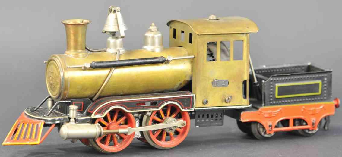 marklin maerklin ar 4021 engine american live steam locomotive brass gauge 1