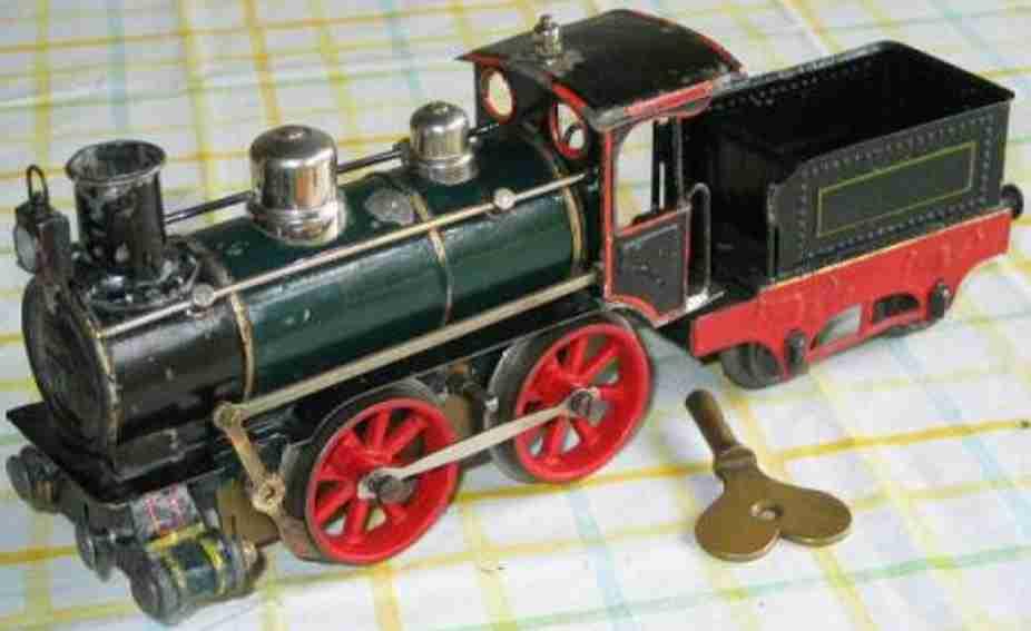 marklin maerklin b 1021 railway toy engine clockwork locomotive green black gauge 1