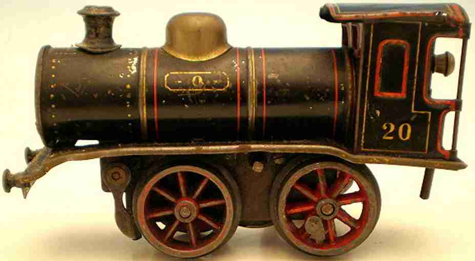 marklin maerklin b 1030 railway toy engine clockwork steam locomotive black gauge 0