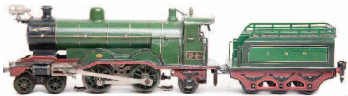 marklin maerklin ce 3120 gnr railway toy engine english low-voltage locomotive gauge 0