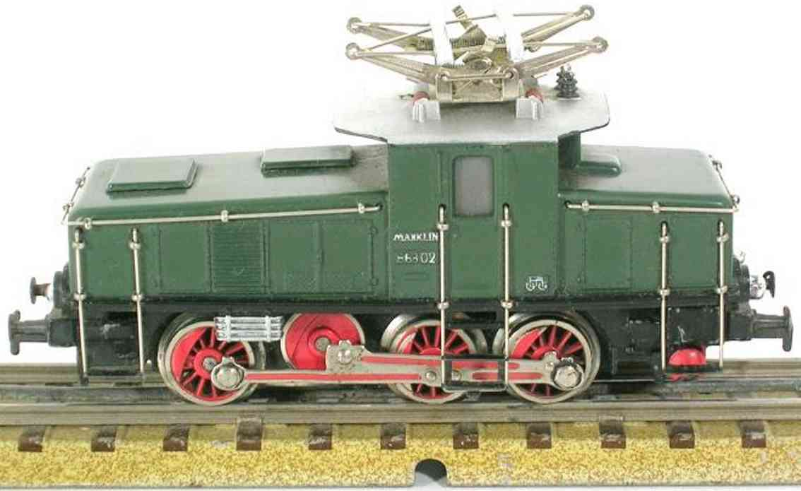marklin maerklin ce 800-1 3001 freight train engine green gauge h0