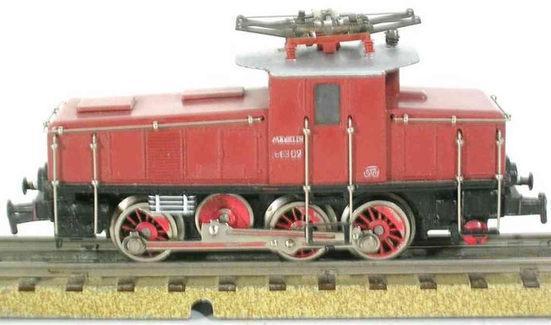 marklin maerklin 3002-3 railway toy engine freight train locomotive brown gauge h0