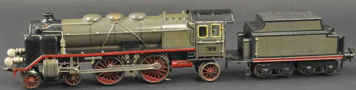 maerklin cer 65/13021 20 volt-dampflokomotive oliv spur 1