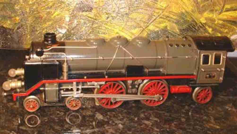 maerklin cer 65/13021 20 volt dampflokomotive grau schwarz spur 1