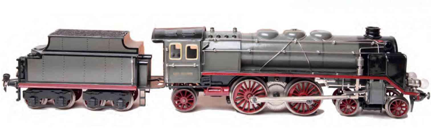 marklin maerklin cer 65/13021 railway toy engine 20 volt steam locomotive gray gauge 1