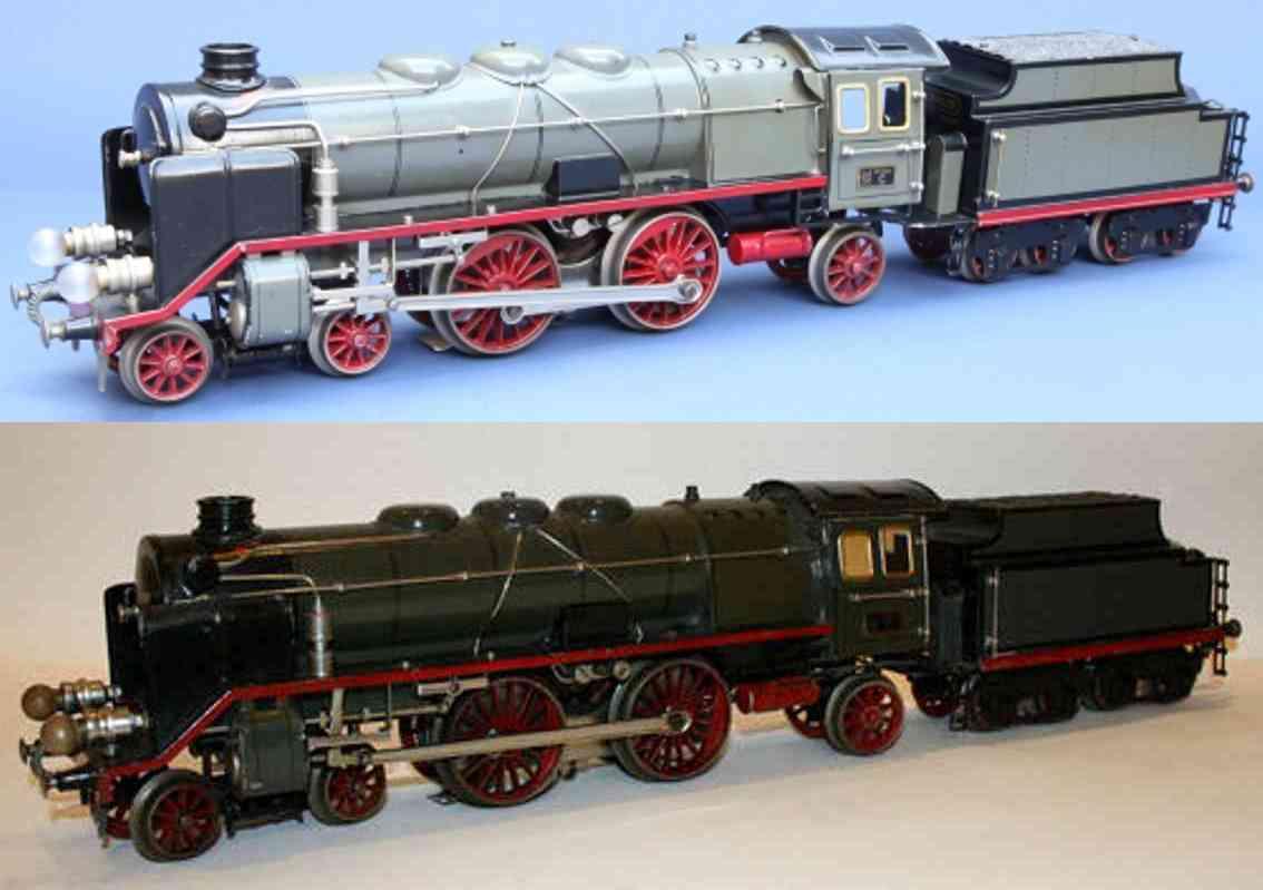 maerklin cer 66/13021 spielzeug eisenbahn 20 volt dampflokomotive grau spur 1