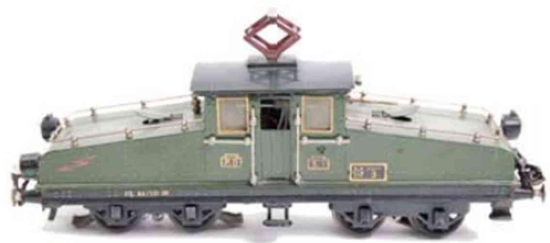 marklin maerklin cl 64/13020 railway toy engine 20 volt full train locomotive green gauge 0