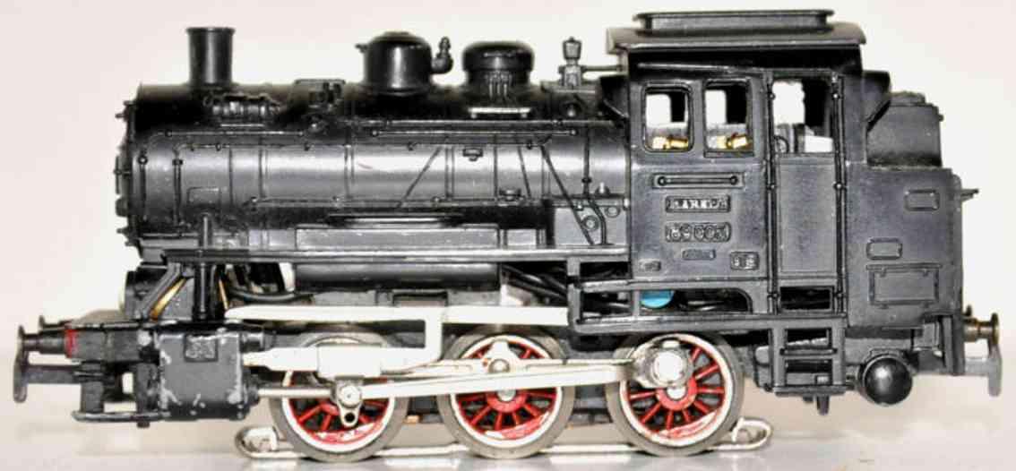 maerklin CM 800-1 spielzeug eisenbahn dampflokomotive schwarz spur h0