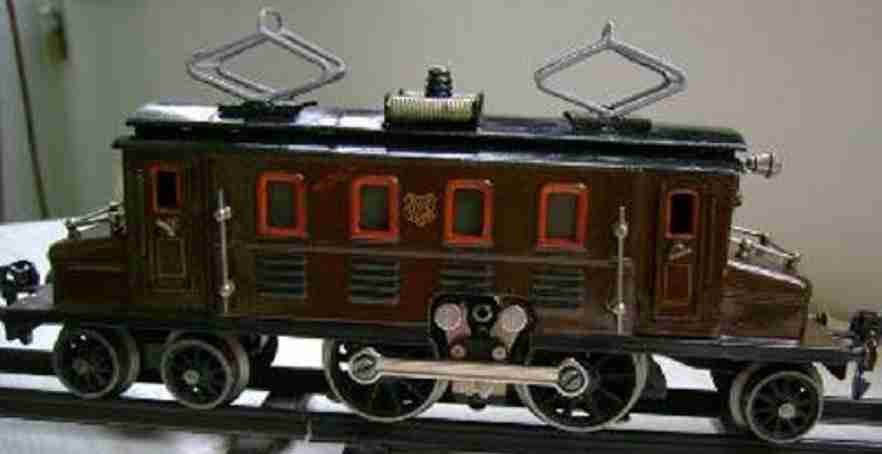 marklin maerklin cs 65/13020 railway toy engine 20-volt locomotive brown gauge 0