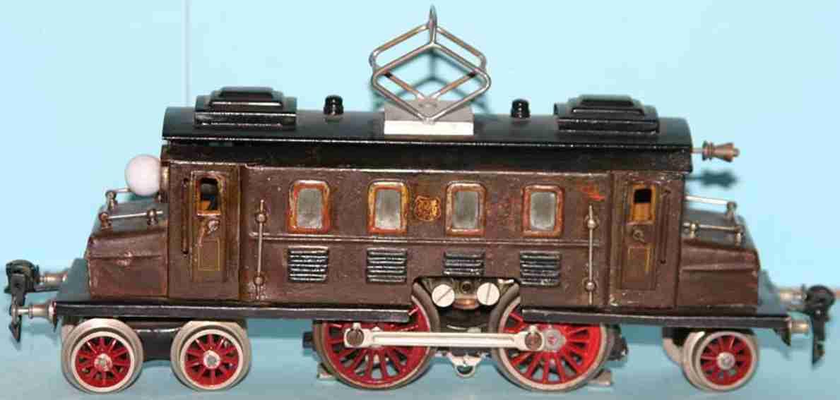 marklin maerklin cs 66/13020 railway toy engine full railway locomotive brown gauge 0