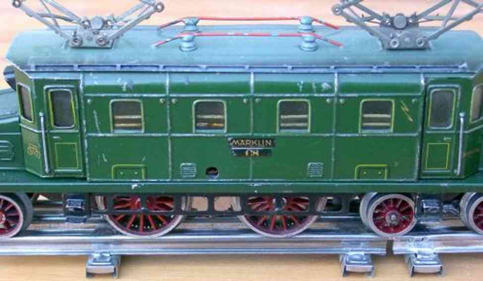 marklin maerklin cs 70/12920 railway toy engine 20-volt electric locomotive green gauge 0