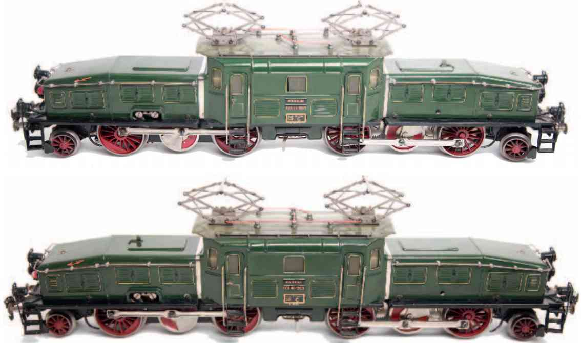 marklin maerklin ccs 66/12921 railway toy engine crocodile green gauge 1