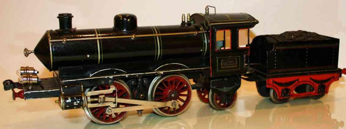 maerklin 1 spielzeug eisenbahn starkstrom-dampflokomotive schwarz spur 1