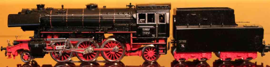 marklin maerklin da 800-1 3005-1 railway toy engine steam locomotive  black gauge h0