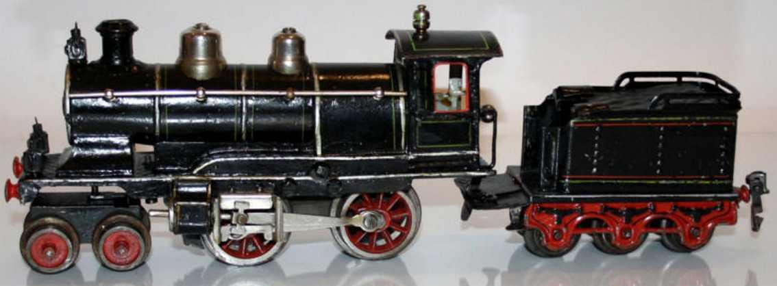maerklin e 1020 spielzeug eisenbahn dampflokomotive tender schwarz spur 0