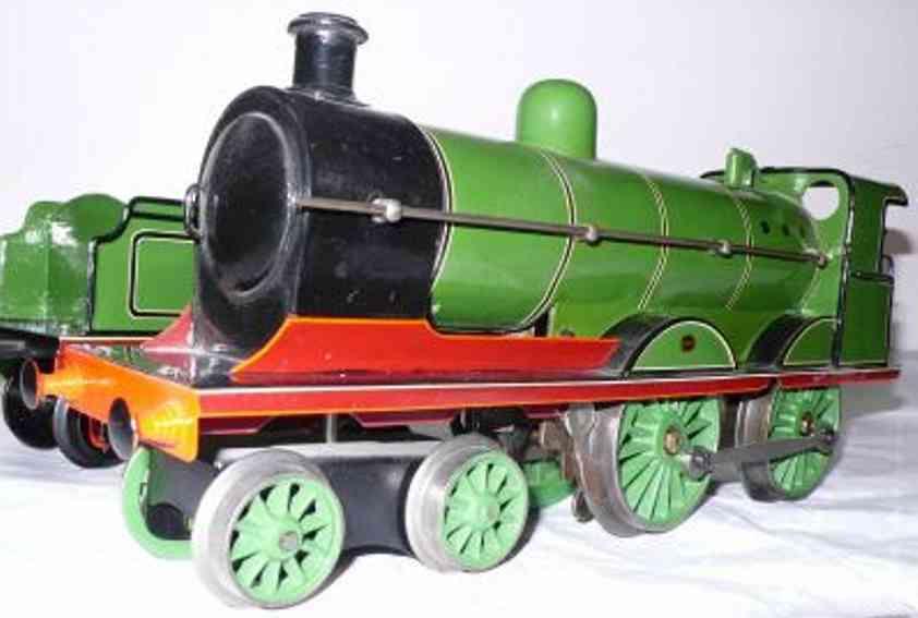 marklin maerklin e 1031 gnr railway toy engine english clockwork steam locomotive green gauge 1