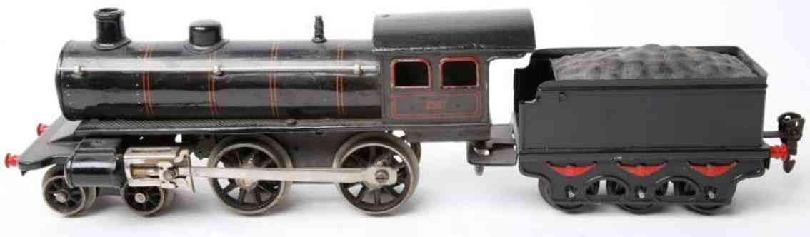 marklin maerklin e 1040 railway toy engine steam locomotive tender black gauge 0
