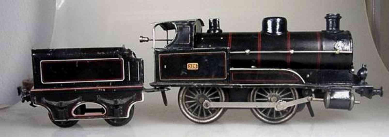 marklin maerklin e 1041 railway toy engine clockwork steam locomotive black gauge 1