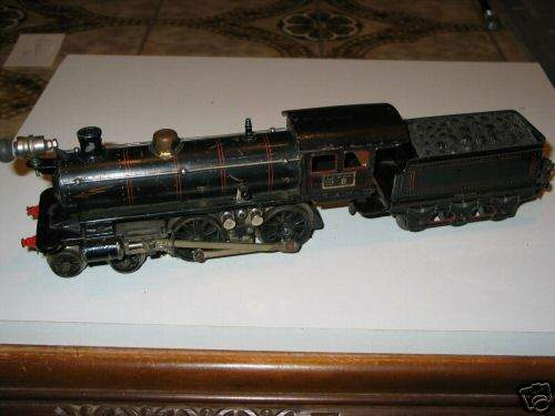 marklin maerklin e 13040 railway toy engine 20-volt steam locomotive black gauge 0
