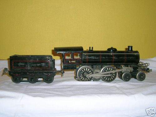 marklin maerklin e 13041 railway toy engine 20 volt steam locomotive black gauge 1