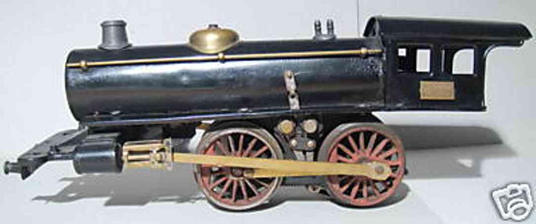 marklin maerklin e 3041 railway toy engine steam locomotive black gauge 1