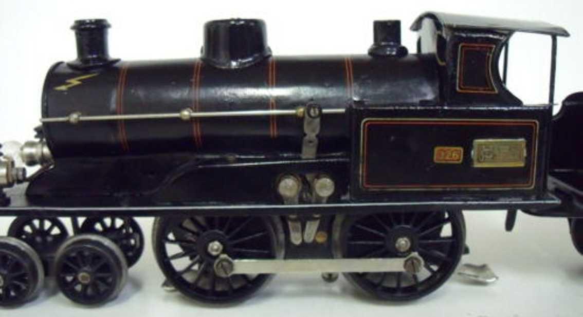 marklin maerklin e 3041 railway toy engine power steam locomotive black gauge 1